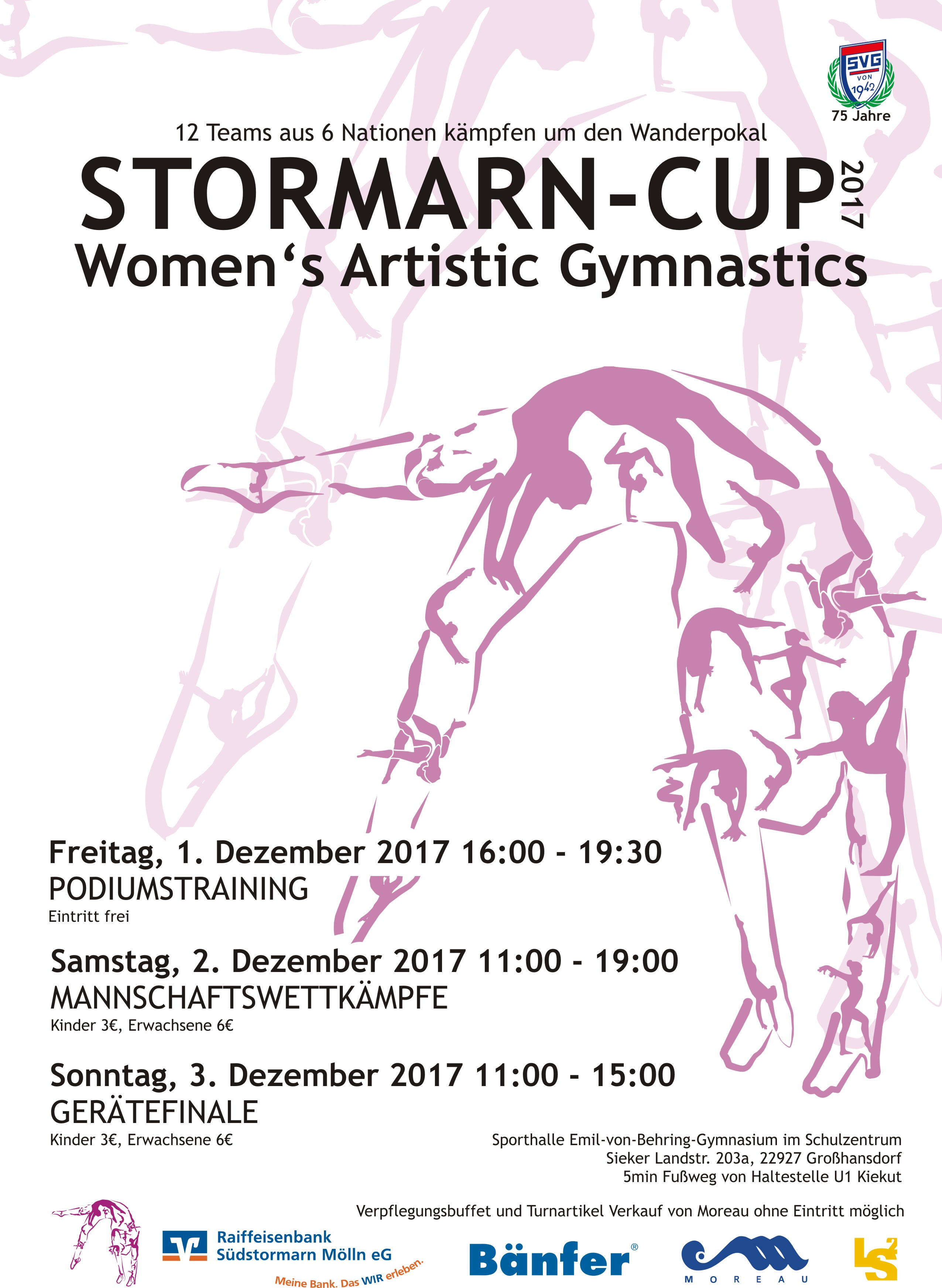 Poster 1st Stormarn Cup 2017